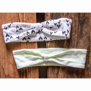 Baby/Toddler Graphic & Neon Knot Headbands